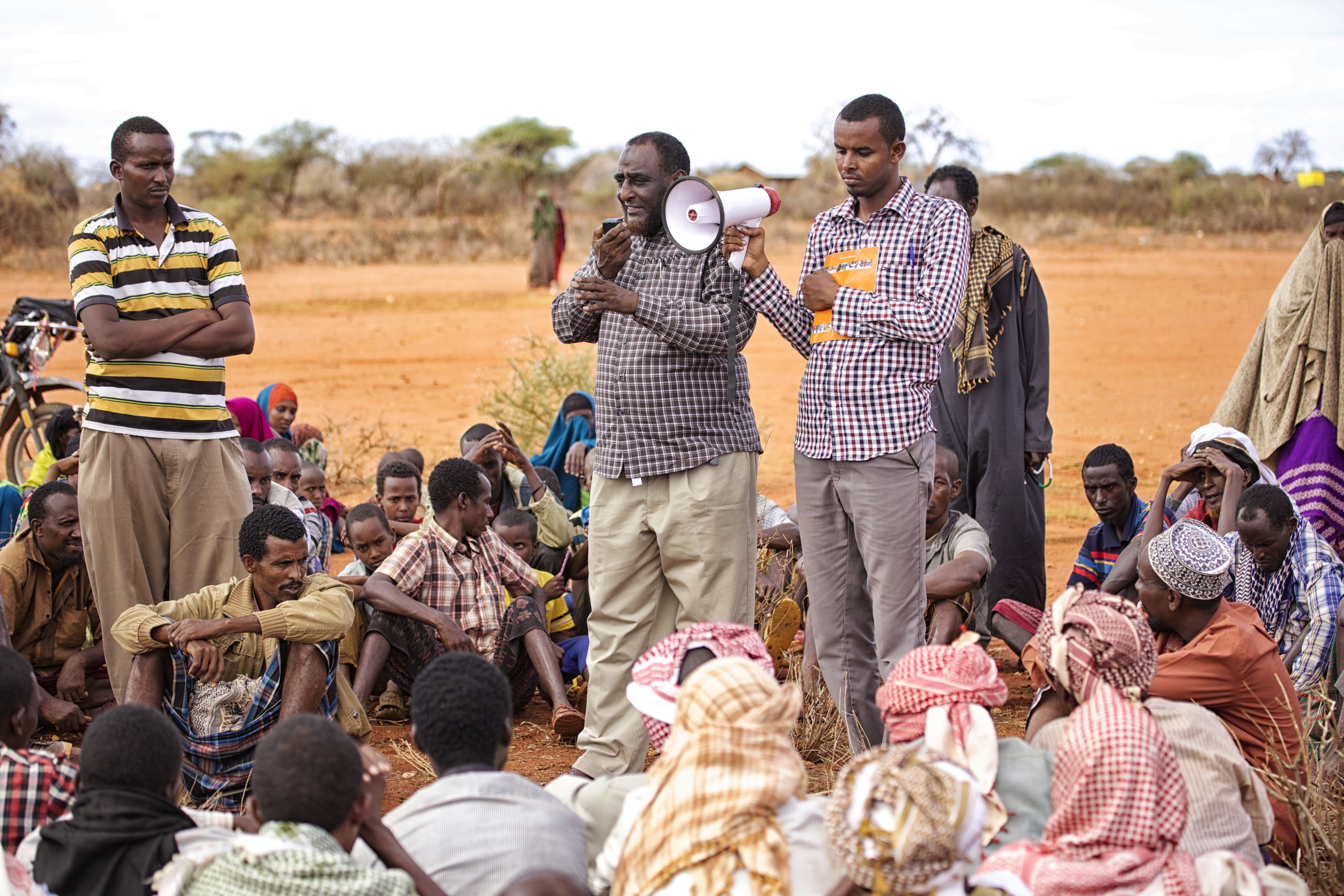 Grassroots communications in Wajir